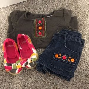 Gymboree 3 piece set